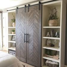 sliding barn doors. free plans for these sliding barn doors are on our site now