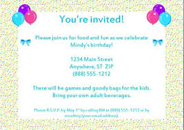 Birthday Invitation Pictures Enchanting Invitation Birthday Party Invitation Email Mytweetcloud