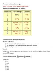 Kindergarten Convert Fraction To Decimal Worksheet Page 7 ...