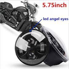 Großhandel 5,75 Motorrad Leds Beleuchtung 5 3 / 4 Runde Projektor Led Licht  Lampe Scheinwerfer Für Harley Davidson Dyna Softail Xl Von Ruxianstore, ...