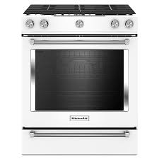 Fine Kitchenaid 5 Burner Gas Grill 58 Cu Ft Slidein Convection To Decor