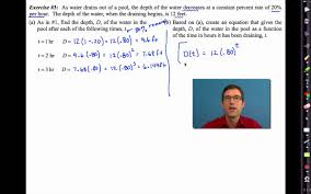 common core algebra i unit 6 lesson 7 exponential models based on percent growth