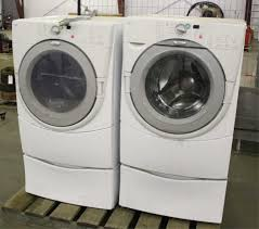 whirlpool duet washer dryer. Plain Dryer Lot   2  WHIRLPOOL DUET FRONT LOAD WASHER AND DRYER In Whirlpool Duet Washer Dryer D