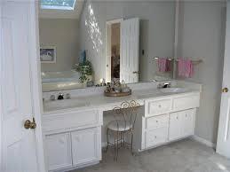 double sink vanity with makeup table bedroom windigoturbines in area idea 4