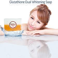 original kojic acid glutathione dual whitening soap with amazingly quick results