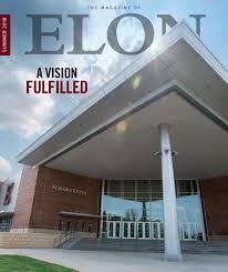 Magazine of Elon, Summer 2018 Issue by University Communications - issuu
