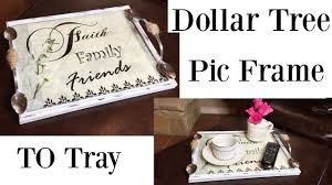 dollar tree diy farmhouse serving tray see how i turn a picture frame into a farmhouse glass tray