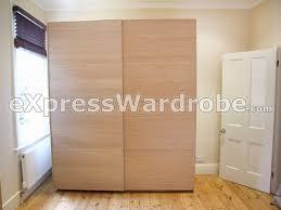 ikea pax malm sliding door wardrobe 200cm