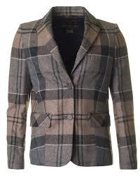 barbour tartan linton tailored winter tartan jacket women from psyche uk