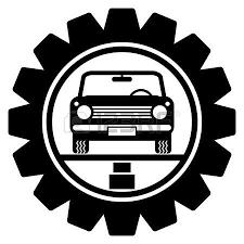 auto parts clip art. Plain Art Car Service Symbol Illustration And Auto Parts Clip Art