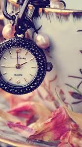 Girly Clock iPhone Wallpaper HD ...