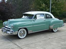 1952 Chevrolet Styleline Deluxe 2-Door Sedan..Re-pin brought to ...