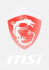 Gaming G Serisi logosu, Dizüstü Ekran Kartları ve Video Adaptörleri  Micro-Star Uluslararası MSI Dell, oyun logosu, amblem, elektronik, etiket  png