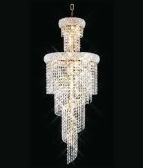 artisan lighting spiral crystal chandelier modern