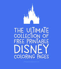 Kids will extremely enjoy looking at the funny images and as well as coloring them using vibrant colors. The Best Collection Of Free Disney Coloring Pages