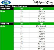 Zoggs Sunshine Beach Classic Girls Swimsuit