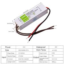 Led Light Power Supply Ac Dc 12v Waterproof Ip67 Transformer Power Supply Adapter Led Light Driver