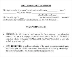 Management Contract Template Free 8 Sample Construction Management