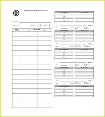 Roster Sheet Template Volleyball Roster Template