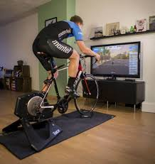what i m going to introduce to you today is a smart turbo trainer game called zwift it allows you to link your trainer up to your preferred device