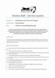 Sample Resume For Kitchen Hand Kitchen Hand Resume Sample Abcom 14