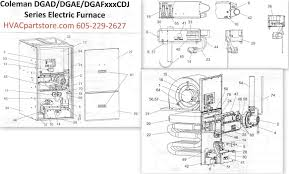 lennox furnace parts. click here to view a manual for the coleman dgad060cdj which includes wiring diagrams. lennox furnace parts
