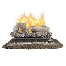 pleasant hearth 24 in 33000 btu dual burner vent free gas fireplace