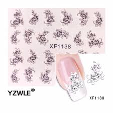 Visit to Buy] YZWLE Hot Sale Water Transfer Nail Art Stickers ...