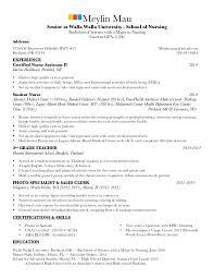 resume for residency