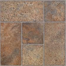 bodden bay 12 in x 12 in terra cotta l and stick vinyl tile