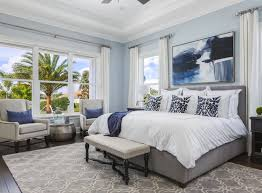 Decorations:Teal Painting Trends For 2017 For Coastal Bedroom Decor Idea  With Cushioned Bed Teal