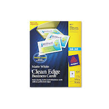 Avery 8870 Template Avery 8877 Or 8870 Clean Edge Business Cards Inkjet
