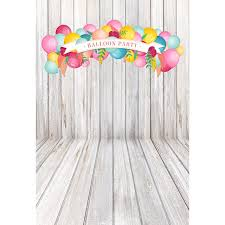 Free Birthday Backgrounds Us 13 38 36 Off Custom Wrinkle Free Cloth Balloons Event Party Backgrounds For Baby Birthday Portrait Photography Backdrops Prop In Background From