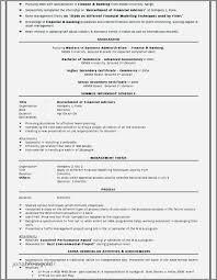 Resume Headline Examples For Mba Fresher Elegant Sample Resume For