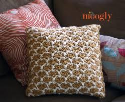 Free Crochet Pillow Patterns Classy Sunshine Lattice Crochet Pillow Moogly