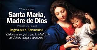 Resultado de imagen para Sta. María, Madre de Dios