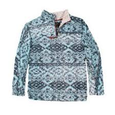 True Grit Frosty Tipped Tribal Pile Pullover The Sherpa
