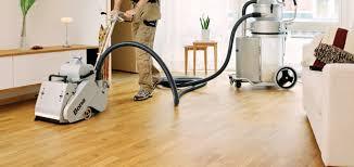 re sand your wooden floor dust free