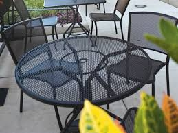 woodard albion wrought iron dining set wrought iron patio chairs g50