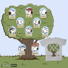 famiy tree score snoopys family tree by obsoletegirl on threadless