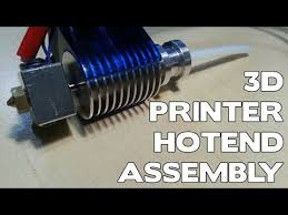 <b>E3d v6 1.75mm</b> Universal Hotend - Assembly - YouTube