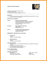 Reference Resume Reference In Resume Cover Letter Samples Cover Letter Samples 10