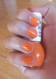 Nehty Oranžové Miss Sporty Janebeauty