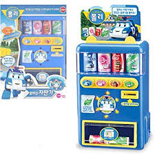 Toy Vending Machine Canada Delectable Robocar Poli Talking Beverage Vending Machine Toy Children's Gift