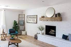 white brick wall interior design