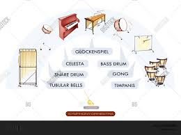 Seating Chart Percussion Vector Photo Free Trial Bigstock