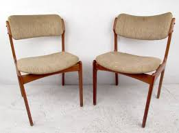 mid century dining set with table and chairs by skovby and o d møbler