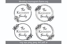 My goal is to always keep hello svg free for personal and commercial use, but running a popular free download site can get costly. Wedding Monogram Svg Cut File Graphic By Meshaarts Creative Fabrica