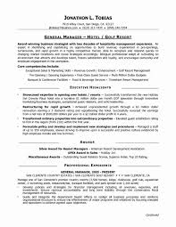 general cv template resume format hotel management new manager cv template job general