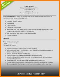 7 Retail Cashier Resume Mla Cover Page